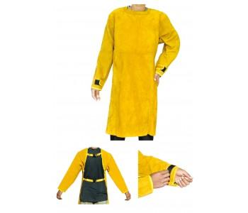 Заваръчен костюм - жълта роба