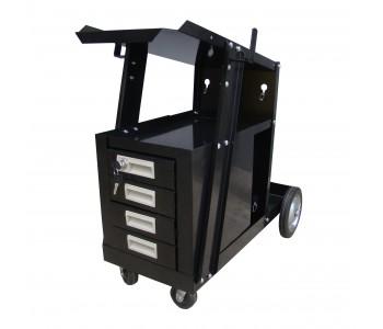 Заваръчна количка с чекмеджета TIG / MIG