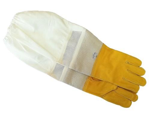 Ръкавели  с ръкавици естествена кожа