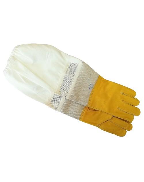 Ръкавели естествена кожа с ръкавици