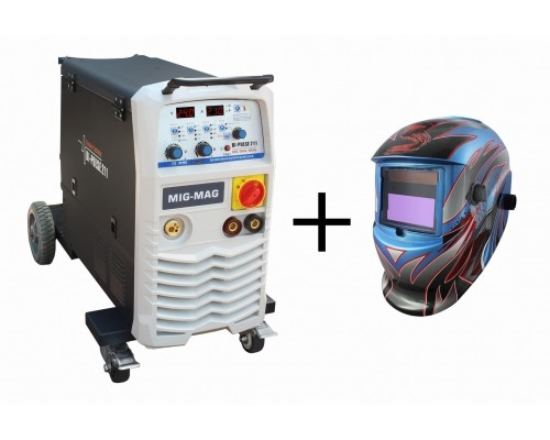 Заваръчен апарат BI PULSE 211 MIG 230V комплект