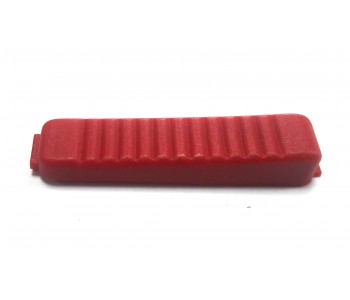 Бутон за ВИГ ръкохватка единичен - червен