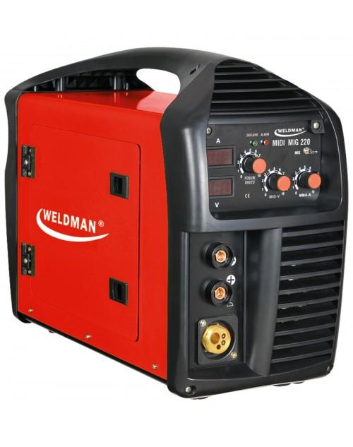 Заваръчен апарат WELDMAN  MIDI MIG 220