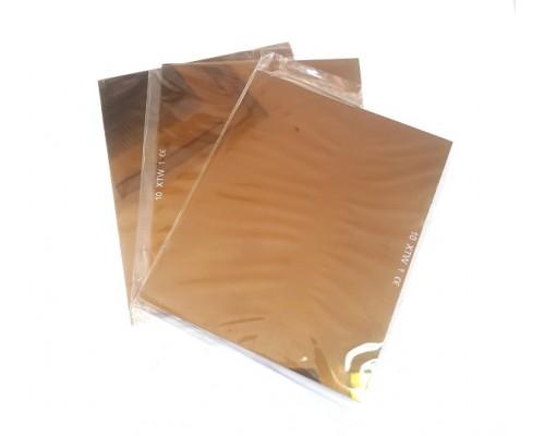 Стъкла златни 90х110мм