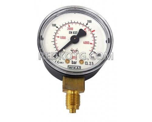 Манометър за технически газове за високо налягане ф.50мм