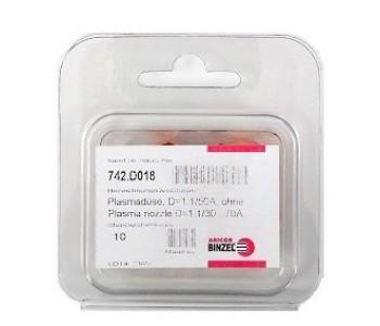 Дюза за плазма ф.1.1мм ABIPLAS 70