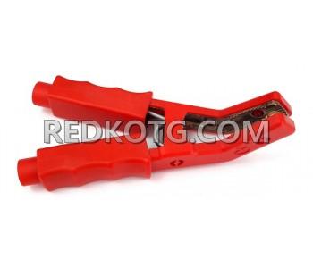 Щипка за акумулатор червена