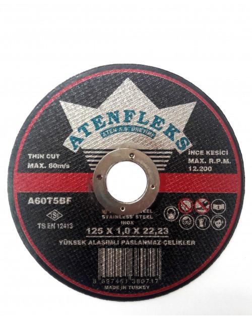 Диск INOX 125 х 1,0 х 22,23мм