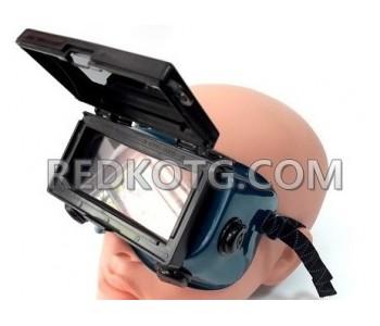 Очила за оксижен с повдигащ се екран