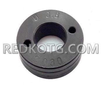 Подаваща ролка 30х14х12 / ф.0,8-1,0мм Al