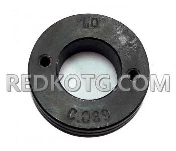 Подаваща ролка 37х19х12мм / ф.1,0-1,2мм