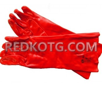 Ръкавици топени в PVC 27см