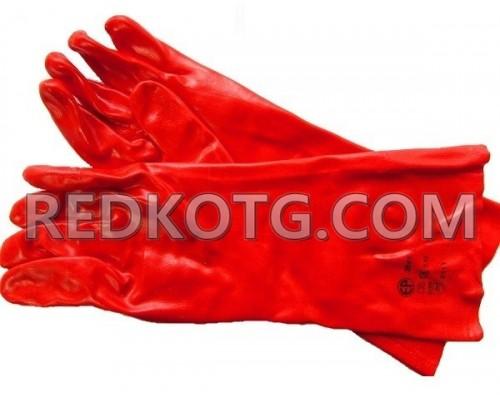 Ръкавици топени в PVC 35см