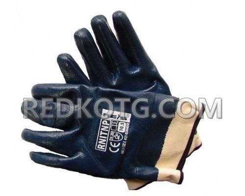 Ръкавици сини нафта