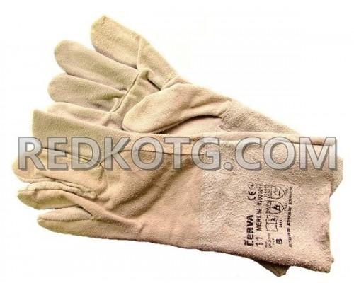 Ръкавици велур дълги MERLIN