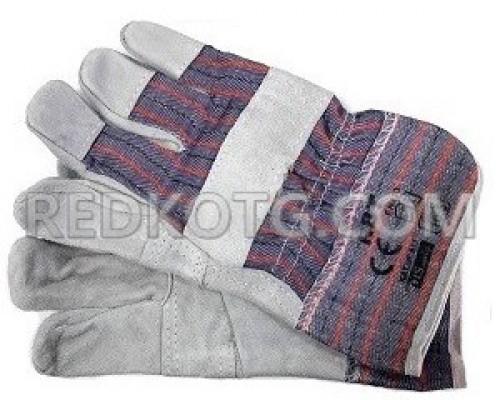 Ръкавици велур и плат