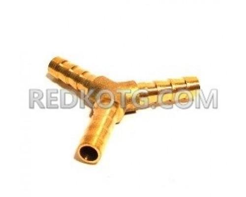 Тройник за маркуч за газ ф.8,0 мм