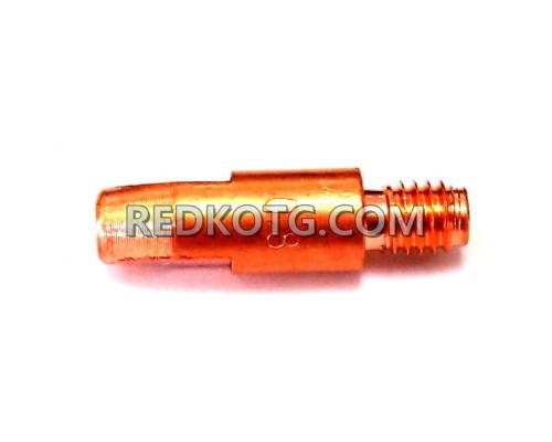 Контактна дюза ф.0.8мм /250 М6 Al